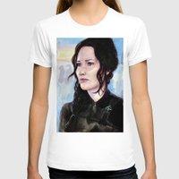 katniss T-shirts featuring Katniss Everdeen by Alina Rubanenko