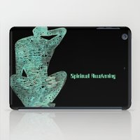spiritual iPad Cases featuring Spiritual Awakening by Margarita Mascaro