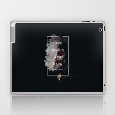 Hope Begins in The Dark - Anne Lamott Laptop & iPad Skin