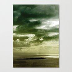 Storm over Pladda Canvas Print
