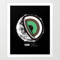 Frozen Planet Art Print