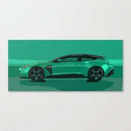 Vanquish Zagato Shooting Brake Canvas Print