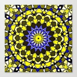 Sun catcher mosaic Canvas Print