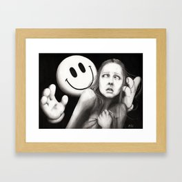 The Pursuit of Happiness Framed Art Print
