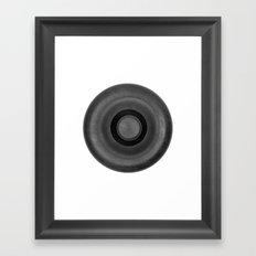 Demi-Stock White Piece 2 Framed Art Print