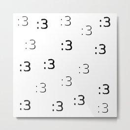 :3 Metal Print