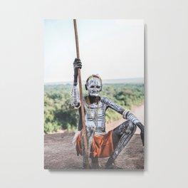 Karo Tribe IV Metal Print