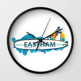 Eastham - Cape Cod. Wall Clock