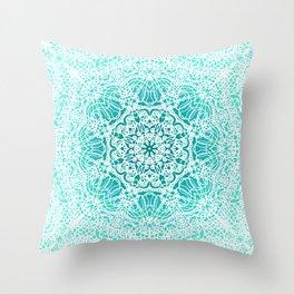 Mehndi Ethnic Style G344 Throw Pillow
