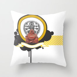 Budhism Throw Pillow