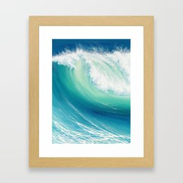Thunder Song Framed Art Print