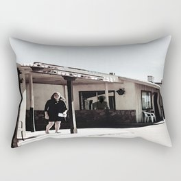 Within The Darkest Parts Of The Day Rectangular Pillow