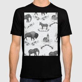 Political Toile T-shirt