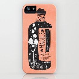 Magics... -orange- iPhone Case