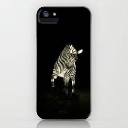 Christmas At The Living Desert Zoo - Zebra iPhone Case