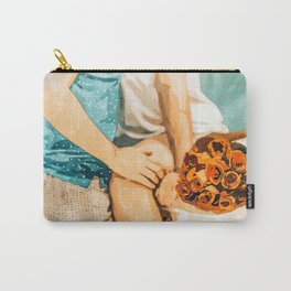 Romance #painting #love Carry-All Pouch