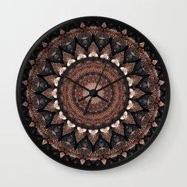 Mandala mother earth 2 Wall Clock