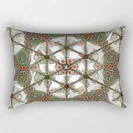 Abstruse Lines Kaleidoscope Rectangular Pillow