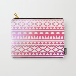 pink tribal ornament Carry-All Pouch