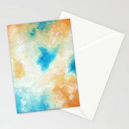 Orange Blossom Galaxy Stationery Cards