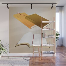 Book collection Wall Mural