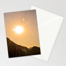 Sunset on the Apache Trail Stationery Cards