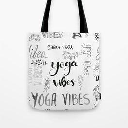 Yoga Vibes Tote Bag