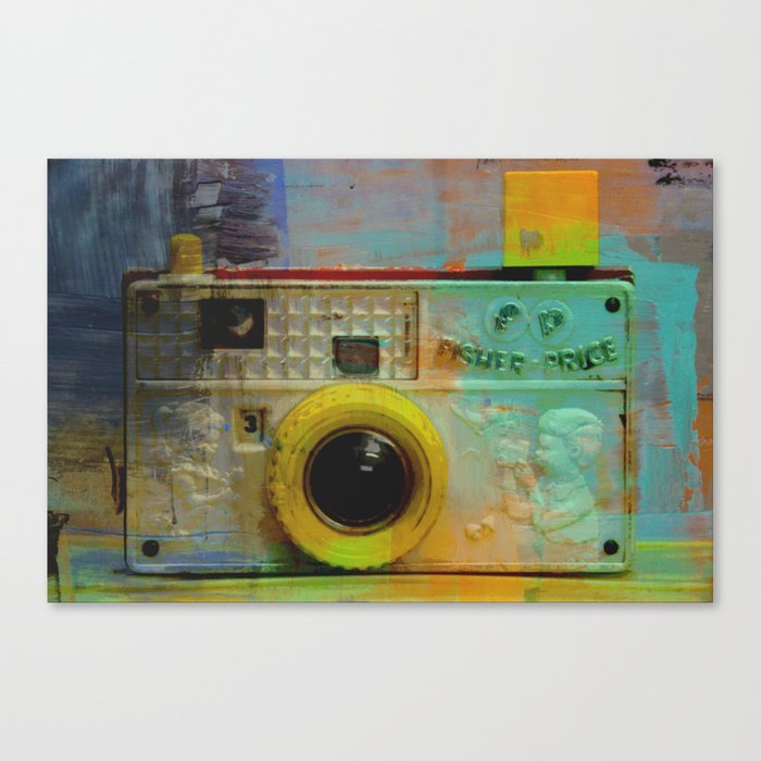 Fisher Price Camera Canvas Print