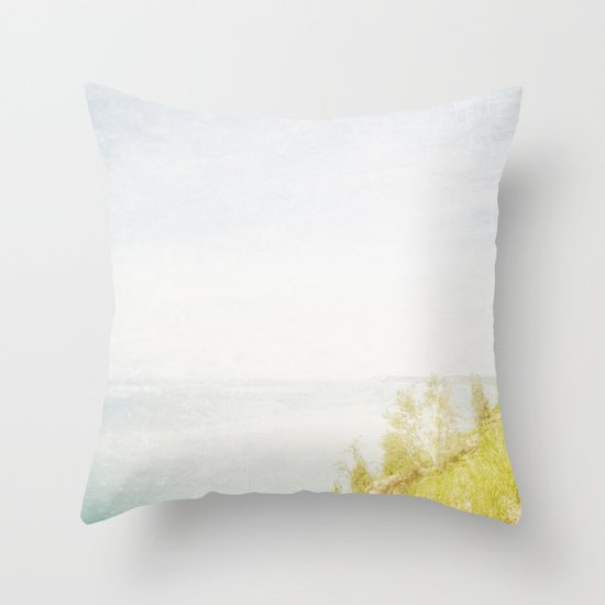 Dream Big Hillside Throw Pillow