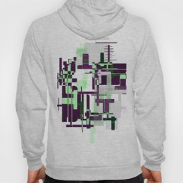 Mint Green City Hoody