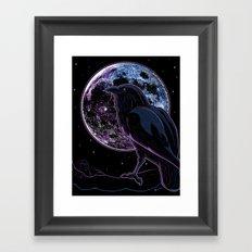 Raven of Nevermore Framed Art Print
