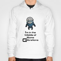 garrus Hoodies featuring Garrus: In the middle of some calibrations by Skart87