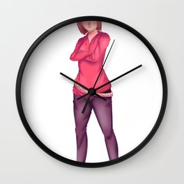 Not So Princess Wall Clock