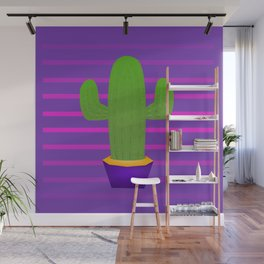Prickly 80s Wall Mural