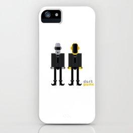 Pixel Daft Punk iPhone Case
