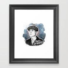 Tommy Shelby Framed Art Print