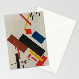 Kazimir Malevich  - House under Construction (1916) Stationery Cards