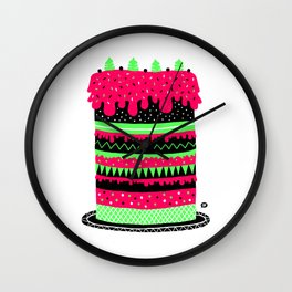The cake Wall Clock