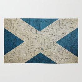 Vintage Scotland flag Rug
