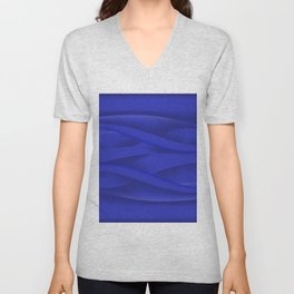 Abstract background Unisex V-Neck