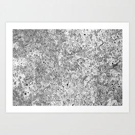 Pattern(Mobility) Art Print
