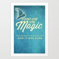 discworld Art Prints featuring Discworld: Magic by halfawake