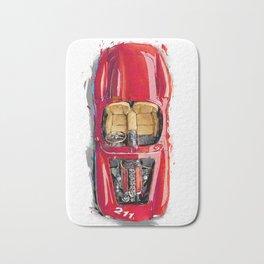 Rosso Corsa Bath Mat