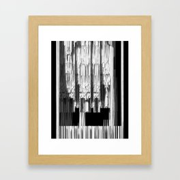 SPIKE INTERIOR SECTION Framed Art Print