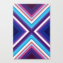 Neon Pond Canvas Print