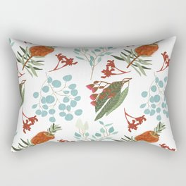 Australian Botanicals - White Rectangular Pillow