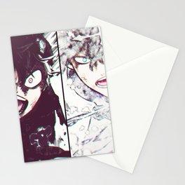 Yuno & Asta Stationery Cards