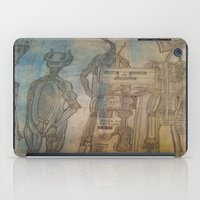robot iPad Cases featuring robot by helendeer