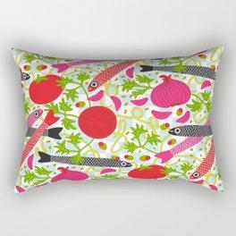 PASTA CON MOLLICA DI PANE Pattern Rectangular Pillow