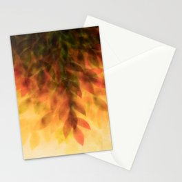 Foliage – autumn fire Stationery Cards